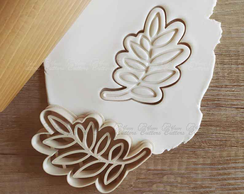 Leaf Leaves Tree Plant Cookie Cutter Pastry Fondant Dough Biscuit,                       fall cookie cutters, mini fall cookie cutters, wilton fall cookie cutters, leaf cookie cutter, maple leaf cookie cutters, leaf fondant cutter, peter rabbit cookie cutter, lego man cookie cutter, subaru cookie cutter, dirt bike cookie cutter, wilton cutters, 2 cookie cutter, champagne flute cookie cutter, sweet sugarbelle products,