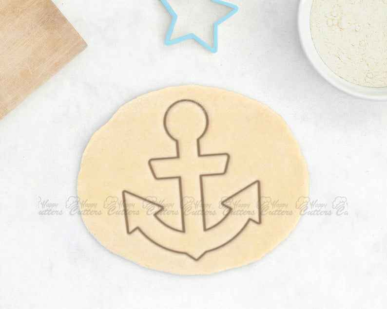 Anchor Cookie Cutter – Nautical Cookie Cutter Sea Cookies Ship Wheel Cookie Cutter Sail Boat Cookies Pirate Cookie Cutter Gift For Him Bones,                       pirate cookie cutter, knight cookie cutter, pirate ship cookie cutter, castle cookie cutter, crown cookie cutter, axe cookie cutter, trefoil cookie cutter, viking cookie cutter, doc mcstuffins cookie cutters, cake boss cookie cutters, watering can cookie cutter, unicorn face cookie cutter, kitty cookie cutter, cookies shaped like dog bones,