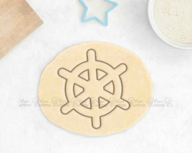Ship Wheel Cookie Cutter – Nautical Cookie Cutter Sea Cookies Anchor Cookie Cutter Sail Boat Cookies Pirate Cookie Cutter Gift For Him Bones,                       pirate cookie cutter, knight cookie cutter, pirate ship cookie cutter, castle cookie cutter, crown cookie cutter, axe cookie cutter, snowflake cutters, ghostbuster cookie cutter, boy scout cookie cutter, musical cookie cutters, barn cookie cutter, dog bone cookie cutter target, statue of liberty cookie cutter, dragon ball cookie cutter,