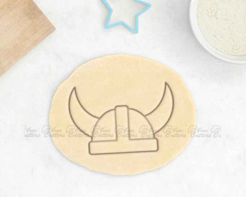 Viking Cookie Cutter - Viking Helmet Cookie Cutter Medieval Clothing Cookies Viking Gift Viking Armor Cookies Dragon Cookie Cutter,                       pirate cookie cutter, knight cookie cutter, pirate ship cookie cutter, castle cookie cutter, crown cookie cutter, axe cookie cutter, pampered chef biscuit cutter, turtle cookie cutter, mini star cookie cutter, graduation hat cookie cutter, swaddled baby cookie cutter, etsy kaleidacuts, big cookie cutters, mini heart cutter,