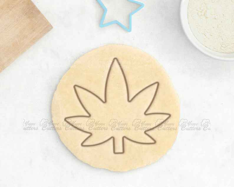 Pot Leaf Cookie Cutter - Cannabis Cookie Cutter Adult Cookie Cutter Joint Grinder Gift,                       fall cookie cutters, mini fall cookie cutters, wilton fall cookie cutters, leaf cookie cutter, maple leaf cookie cutters, leaf fondant cutter, scooby doo cookie cutter, cloud cookie cutter, farm cookie cutters, baby carriage cookie cutter, egg shaped cookie cutter, hand cookie cutter, animal sandwich cutters, cookie cutters walmart,