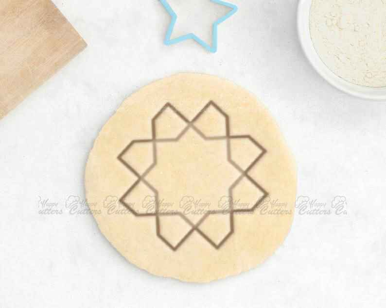 Moroccan Cookie Cutter - Moroccan Rug Cookie Cutter Geometric Cookie Cutter Moroccan Tile,                       geometric cookie cutters, square cookie cutter, square fondant cutter, triangle cookie cutter, circle cookie cutter, circle cake cutter, swimmer cookie cutter, sea creature cookie cutters, kidney cookie cutter, llama cookie cutter michaels, rubber duck cookie cutter, cup cookie cutter, unusual cookie cutters uk, horse shaped cookie cutter,