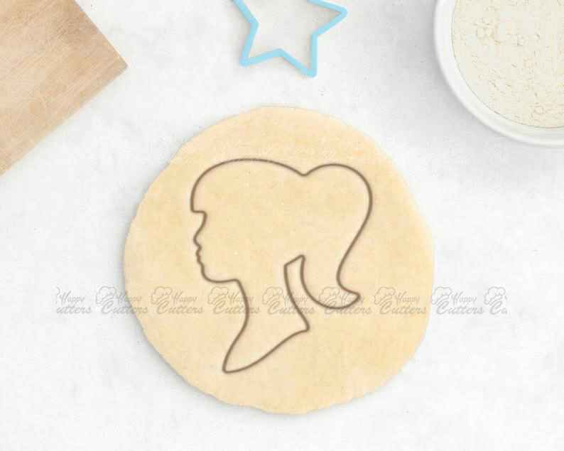 Doll Cookie Cutter – Princess Cookie Cutter Crown Cookie Cutter Ponytail Girl Fairy Tale Cookies Baby Shower Favor Princess Gift For Her,                       dress cookie cutter, high heel cookie cutter, high heel shoe cookie cutter, perfume bottle cookie cutter, ballet cookie cutter, corset cookie cutter, champagne bottle cookie, cookie stamp set, sea animal cookie cutters, giant gingerbread cookie cutter decoration, dog face cookie cutter, christmas cookie cutters dollar tree, superhero cutters, banana cookie cutter,