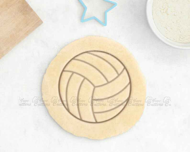Volleyball Cookie Cutter - Volley Ball Cookie Cutter Volleyball Gifts Volleyball Coach Gift Volleyball Mom Sports Cookies Fondant Cutter,                       beach cookie cutters, beach themed cookie cutters, beach ball cookie cutter, summer cookie cutters, holiday cookie cutters, holiday cookie cutter set, mini star cutter, mini cookie cutters hobby lobby, mickey cookie cutter, dollar store cookie cutters, bespoke cookie cutters, baby dinosaur cookie cutters, alien cookie cutter, hello kitty fondant cutter,
