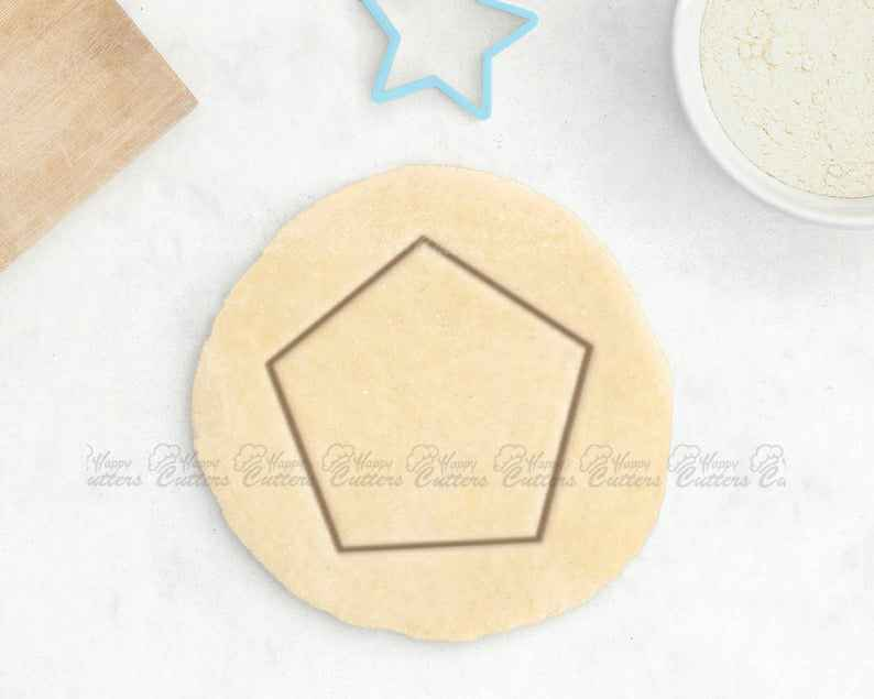 Geometric Cookie Cutter – Pentagon Cookie Cutter Minimalist Tile Geometry Gift Math Teacher Gift Hipster Cookie Cutter Circle Square Hexagon,                       geometric cookie cutters, square cookie cutter, square fondant cutter, triangle cookie cutter, circle cookie cutter, circle cake cutter, pony cookie cutter, teepee cookie cutter, gnome cookie cutter, pony cookie cutter, ivy leaf cookie cutter, mini letter cookie cutters, mini gingerbread man cutter, football jersey cookie cutter,