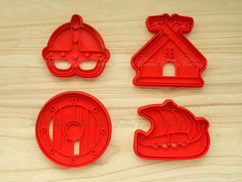 Mighty Vikings:  Cookie Cutters and Embossers, Cake and Fondant Decorates,                       pirate cookie cutter, knight cookie cutter, pirate ship cookie cutter, castle cookie cutter, crown cookie cutter, axe cookie cutter, kate spade cookie cutters, tiger cookie cutter, watermelon cookie cutter, bumble bee cookie cutter, hexagon cookie cutter michaels, english bulldog cookie cutter, custom cookie cutters etsy, ateco round cutters,