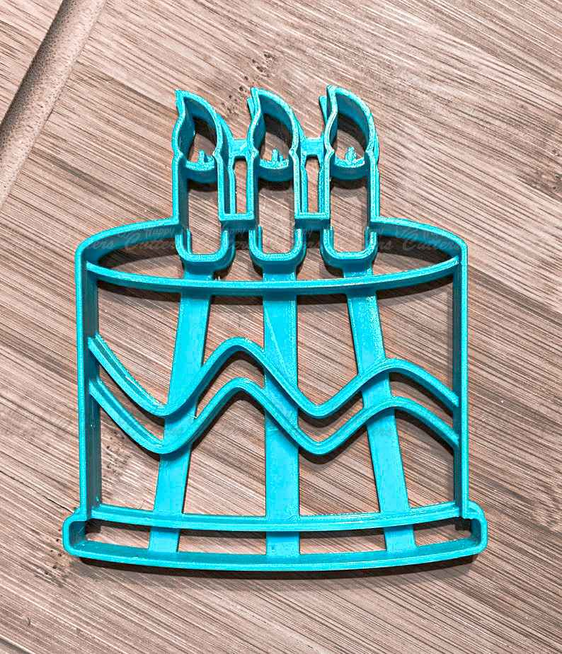 Single Layer Birthday Cake Cookie Cutter with detail,                       birthday cookie cutters, happy birthday cookie cutter, birthday cake cookie cutter, happy birthday cookie stamp, baby shower cookie cutters, bridal shower cookie cutters, square biscuit cutter, square pastry cutter, sweet sugarbelle christmas cookie cutters, wooden cookie stamps, metal alphabet cookie cutters, baby shower cookie stamp, logo cookie cutter, christmas light cookie cutter,