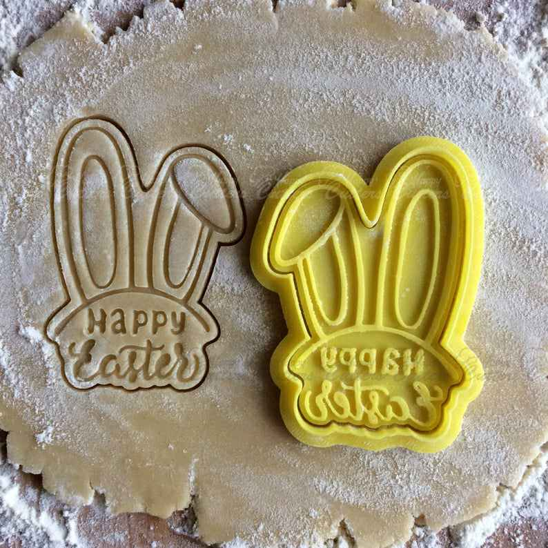 Easter cookie cutter. Easter rabbit cookie stamp. Happy Easter cookies. Cookie letter stamp. Cookie press for Easter.,                       easter cookie cutters, easter egg cookie cutter, easter bunny cookie cutter, easter cutters, rabbit cutters, rabbit cookie cutter, disney princess cookie cutters, swimmer cookie cutter, baby cookie cutters, fruit cutter shapes, w cookie cutter, pie decorating cutters, carousel horse cookie cutter, round biscuit cutter,