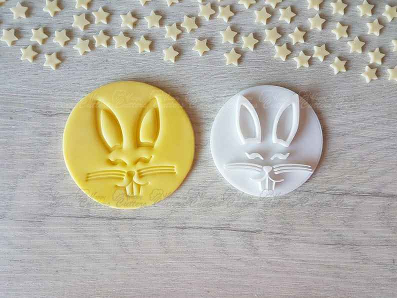 Easter Bunny Stamp | Fondant Embosser | Cookie Cake Stamp,                       easter cookie cutters, easter egg cookie cutter, easter bunny cookie cutter, easter cutters, rabbit cutters, rabbit cookie cutter, shortbread cutter, small fish cookie cutter, cookies and cutters, baby jesus cookie cutter, wsu cookie cutter, elk cookie cutter, succulent cookie cutter, gingerbread boy cookie cutter,