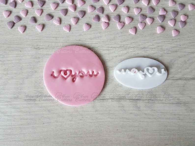 I heart you Embosser Stamp | Cookie Biscuit Pottery Stamp |,                       letter cookie cutters, cursive letter cookie stamp, cursive letter fondant cutters, fancy letter cookie cutters, large letter cookie cutters, letter shaped cookie cutters, cookie plunger, halloween cutters, disney princess cookie cutters, forest animal cookie cutters, christmas pie crust cutters, mario bros cookie cutters, bow tie cookie cutter, unicorn cookie cutter set,