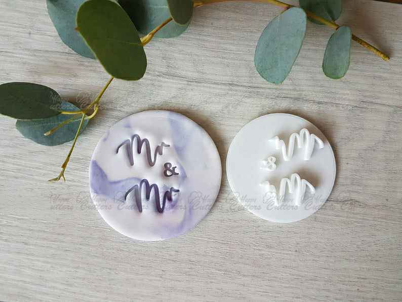Mr & Mr Embosser Stamp| Cookie Soap Pottery Stamp|,                       letter cookie cutters, cursive letter cookie stamp, cursive letter fondant cutters, fancy letter cookie cutters, large letter cookie cutters, letter shaped cookie cutters, canadian cookie cutters, cookie moulds, scandinavian cookie cutters, key cookie, ring cookie cutter, professional cookie cutters, fiesta cookie cutter set, cookie cutters with matching stencils,