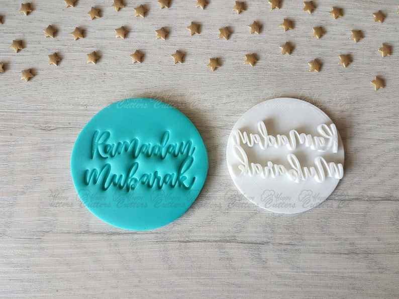 Ramadan Mubarak Embosser Stamp | Cookie Biscuit Pottery Stamp |,                       letter cookie cutters, cursive letter cookie stamp, cursive letter fondant cutters, fancy letter cookie cutters, large letter cookie cutters, letter shaped cookie cutters, 4 round cookie cutter, mini halloween cookie cutters, amazon cookie cutters, giant heart cookie cutter, hey duggee cookie cutter, veggie cutter shapes, truck with tree cookie cutter, tin cookie cutters,