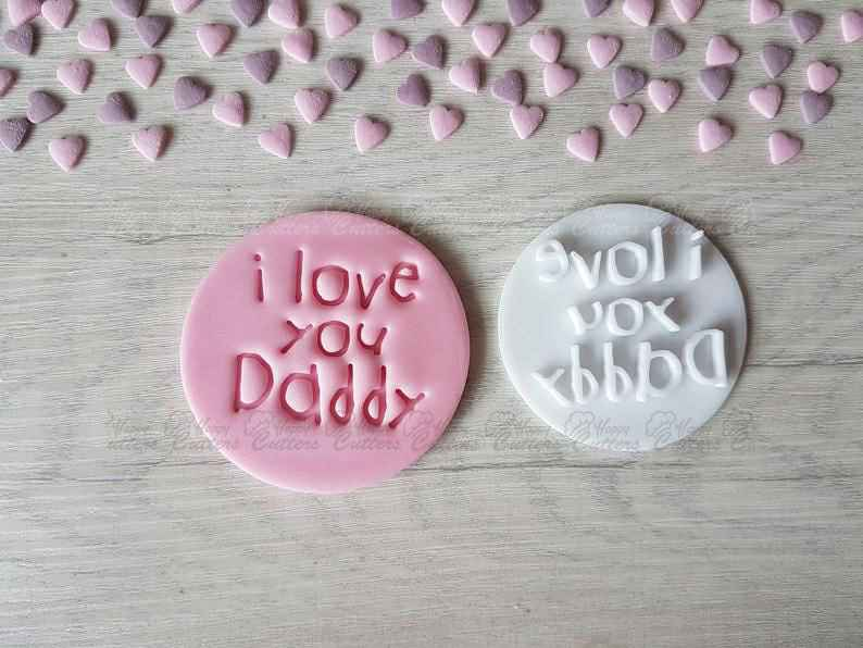 I Love You Daddy Embosser Stamp,                       letter cookie cutters, cursive letter cookie stamp, cursive letter fondant cutters, fancy letter cookie cutters, large letter cookie cutters, letter shaped cookie cutters, large gingerbread cookie cutter, ice cream cone cookie cutter, cookie cutter stamps, gingerbread man cookie cutter, ballet shoe cookie cutter, biscuit cutters asda, mini dinosaur cookie cutters, nintendo cookie cutters,