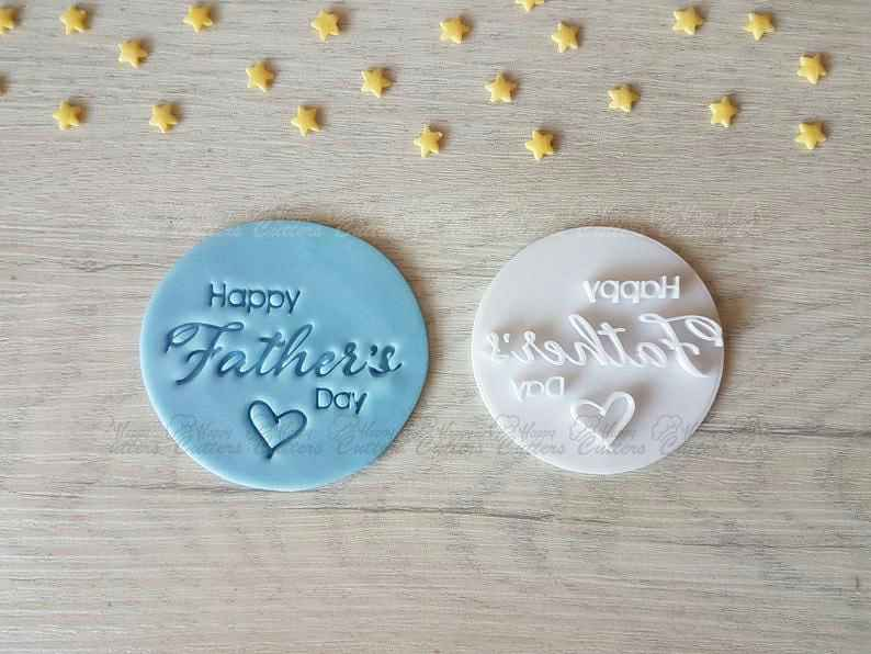 Happy Father's Day Style2 Embosser Stamp,                       letter cookie cutters, cursive letter cookie stamp, cursive letter fondant cutters, fancy letter cookie cutters, large letter cookie cutters, letter shaped cookie cutters, st patrick's day cookie cutter, cutitoutcutters, stainless steel christmas cookie cutters, krampus cookie cutter, whisked away cookie cutters, speech bubble cookie cutter, celtic cookie cutters, easter cookie cutters,