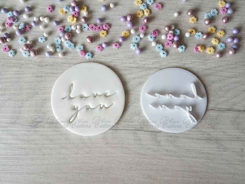 love you Style2 Embosser Stamp | Cookie Biscuit Pottery Stamp |,                       letter cookie cutters, cursive letter cookie stamp, cursive letter fondant cutters, fancy letter cookie cutters, large letter cookie cutters, letter shaped cookie cutters, tulip cookie cutter, 6 inch cookie cutter, wiener dog cookie cutter, friends cookie cutters, silicone cookie cutters, the office cookie cutters, koala cookie cutter, flower shape cutter,