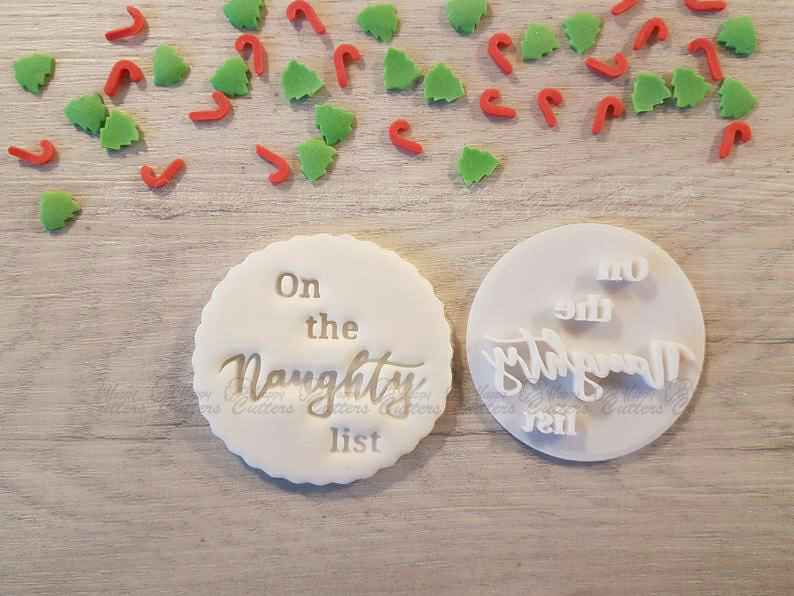On the Naughty List Embosser Stamp|Christmas Cookies Soap Pottery Stamp|,                       letter cookie cutters, cursive letter cookie stamp, cursive letter fondant cutters, fancy letter cookie cutters, large letter cookie cutters, letter shaped cookie cutters, wildlife cookie cutters, wilton comfort grip cookie cutters, bigfoot cookie cutter, puzzle piece cutter, 3 inch cookie cutter, camel cookie cutter, peppa pig cookie cutter near me, deadpool cookie cutter,