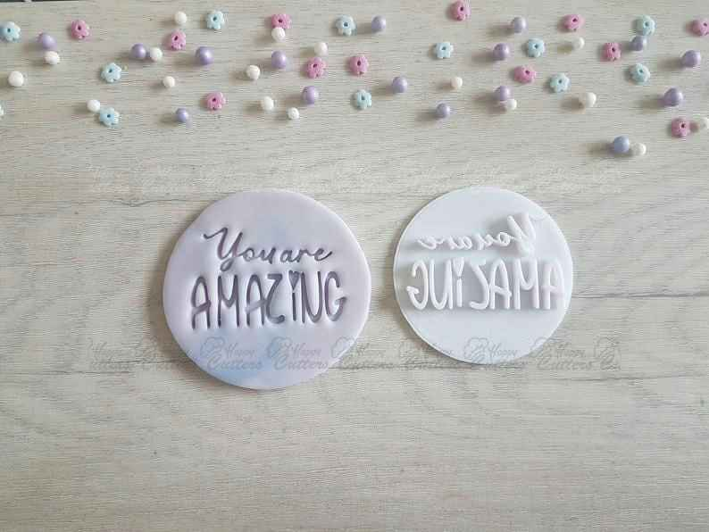 You are Amazing Embosser Stamp | Cake Cookie Biscuit Stamp,                       letter cookie cutters, cursive letter cookie stamp, cursive letter fondant cutters, fancy letter cookie cutters, large letter cookie cutters, letter shaped cookie cutters, hey duggee cookie cutter, 4 inch square cookie cutter, trolls cookie cutter, thanksgiving cookie cutters walmart, christmas cookie cutters walmart, ice skate cookie cutter, christmas cookie cutters target, elephant cookie cutter hobby lobby,