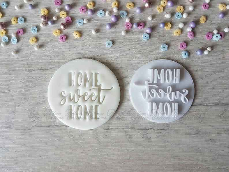 Home Sweet Home Embosser Stamp,                       letter cookie cutters, cursive letter cookie stamp, cursive letter fondant cutters, fancy letter cookie cutters, large letter cookie cutters, letter shaped cookie cutters, valentine cookie cutters, cookie cutter mould, jack o lantern cookie cutter, mermaid tail cutter, christmas light cookie cutter, space themed cookie cutters, batman fondant cutter, old river road cookie cutters,