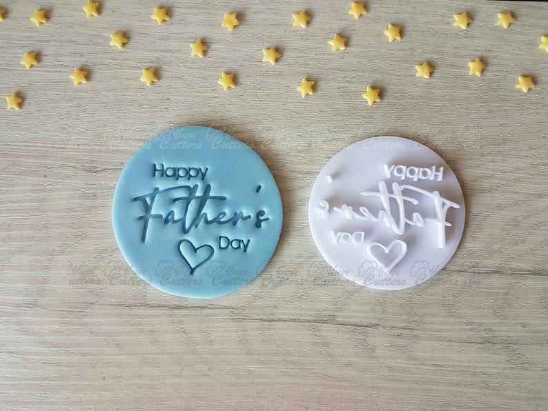 Happy Father's Day Style3 Embosser Stamp,                       letter cookie cutters, cursive letter cookie stamp, cursive letter fondant cutters, fancy letter cookie cutters, large letter cookie cutters, letter shaped cookie cutters, sweet sugarbelle cookie cutters michaels, semi truck cookie cutter, dog shaped cookie, xmas tree cookie cutter, hulk cookie cutter, subaru cookie cutter, gingerbread house cutter kit, truck and tree cookie cutter,