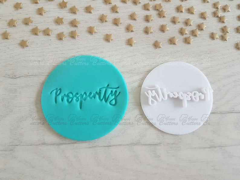 Prosperity Embosser Stamp | Cake Cookie Biscuit Pottery Stamp |,                       letter cookie cutters, cursive letter cookie stamp, cursive letter fondant cutters, fancy letter cookie cutters, large letter cookie cutters, letter shaped cookie cutters, st patrick cookie cutters, baby biscuit cutters, wooden cookie stamps, beer cookie cutter, happy birthday cookie stamp, harry potter cookie cutter set, hobby lobby christmas cookie cutters, balloon cookie cutter,