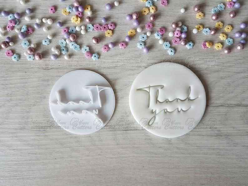 Thank You Style2 Embosser Stamp | Cookie Biscuit Stamp | Wedding Thank yous | Gratitudes,                       letter cookie cutters, cursive letter cookie stamp, cursive letter fondant cutters, fancy letter cookie cutters, large letter cookie cutters, letter shaped cookie cutters, spring cookie cutters, spider cutter, ice cream cookie cutter, jack o lantern cookie cutter, personalized cookie cutter stamp, classic car cookie cutters, cheap metal cookie cutters, rocket cookie cutter,