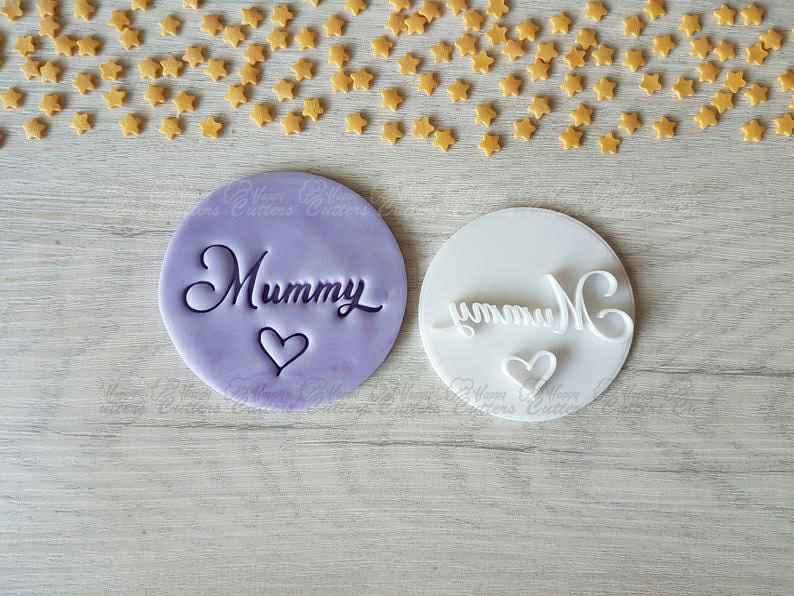 Mummy & Heart Embosser Stamp | Mother's Day Gift,                       letter cookie cutters, cursive letter cookie stamp, cursive letter fondant cutters, fancy letter cookie cutters, large letter cookie cutters, letter shaped cookie cutters, rainbow cookie cutter, animal cookie cutters walmart, cookie cutters, duck shaped cookie cutter, mom cookie cutter, cookie shapes by hand, fruit and vegetable shape cutter, ateco cookie cutters,