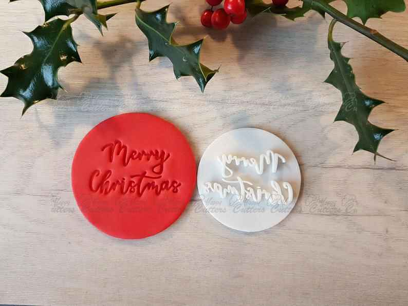 Merry Christmas Embosser Stamp|Christmas Cookies Soap Pottery Stamp|,                       letter cookie cutters, cursive letter cookie stamp, cursive letter fondant cutters, fancy letter cookie cutters, large letter cookie cutters, letter shaped cookie cutters, cat cookie cutter, mickey cutter, westie cookie cutter, wooden cookie stamps, cookie cutters canadian tire, hibiscus flower cookie cutter, space themed cookie cutters, star biscuit cutters,