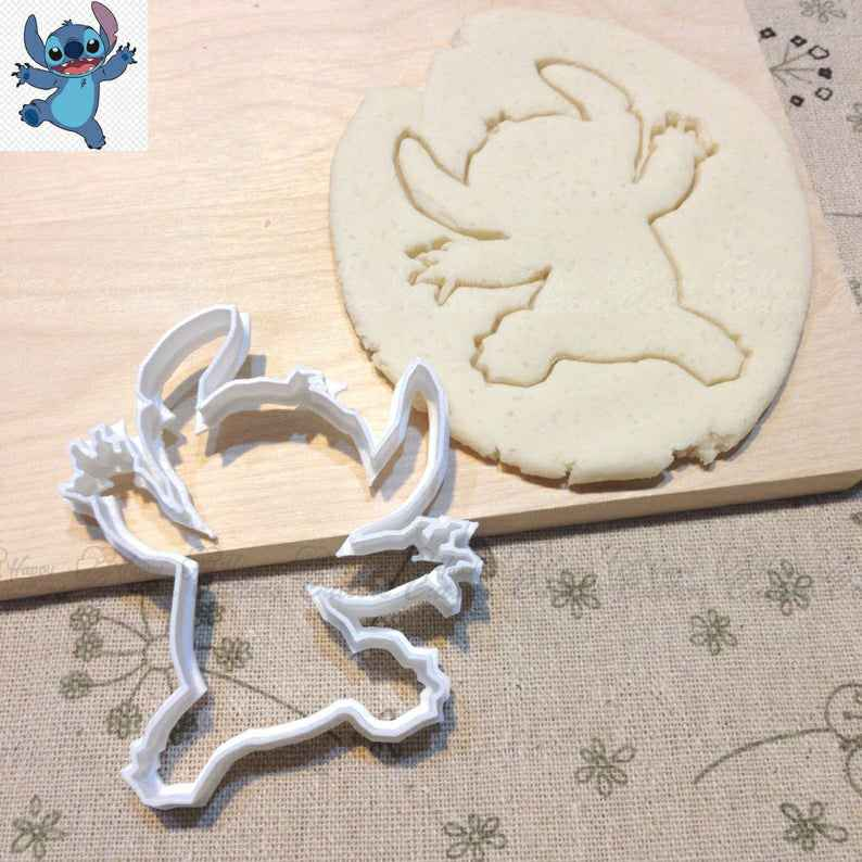 Stitch Cookie Cutter - Baby Shower Birthday Party Favors Gift Ideas Fondant Cupcake Cake Topper,                       stitch cookie cutter, lilo and stitch cookie cutters, stitch shape cutters, kids stitch cutter, stitch sweet cutters, funny stitch cookie cutters, incredibles cookie cutter, hexagon biscuit cutter, best cookie cutters ever, gecko cookie cutter, cookie cutter urban, tiara cookie cutter, sunshine cookie cutter, candle cookie cutter,